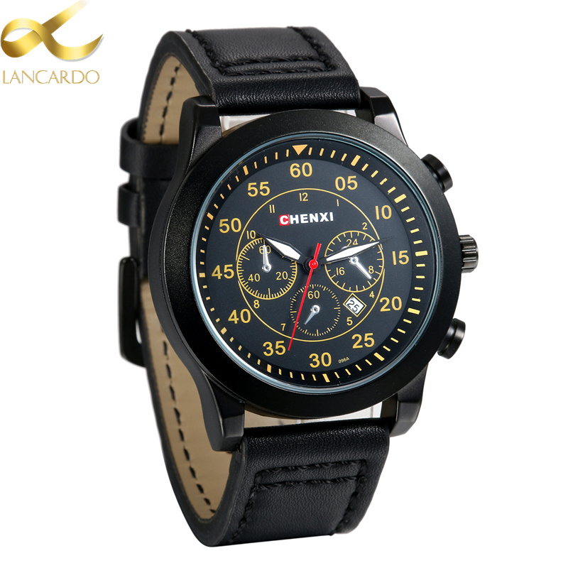 Relogio Masculino With Date Lancardo Wristwatch 2018 Wrist Watch Men Watches Top Brand Luxury Famous Quartz Watch For Male Clock
