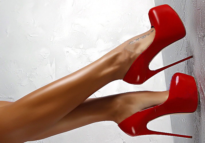 Red Patent Leather Thin Heel Chaussure Femme 16cm Extreme High Heels Fetish Sexy Lady Pumps Club Party Platform High Heels Women 2016 valentine sexy gold silver women pumps red bottom high heels chaussure femme semelle rouge wedge cheap red sole shoes