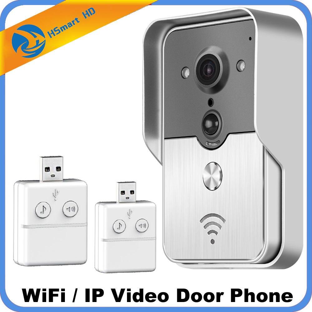 3G 4G sans fil Wifi interphone vidéo porte téléphone 720 P HD carte SD caméra extérieure IP portier sonnette système P2P détection de mouvement