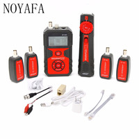 NF 858 Cable Line Locator Portable Wire Tracker Cable Tester Finder For Network Cable Testing RJ11 RJ45 BNC Cable Line