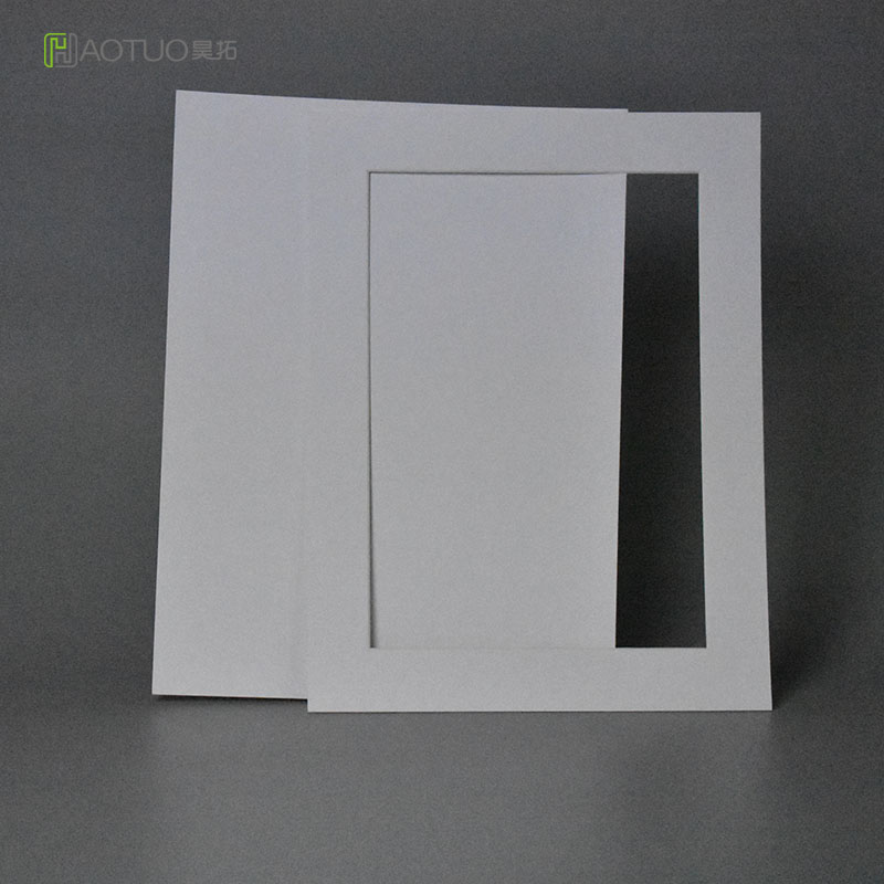 HAOTUO Photo Frame White Photo Folders for 8x10 Picture Large Acid ...