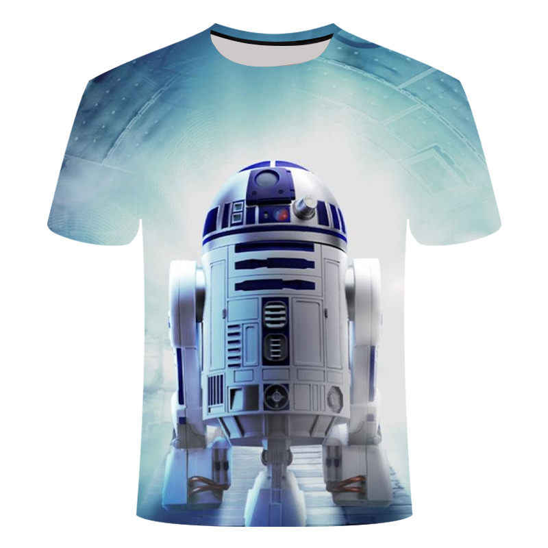 T shirtNew alta qualidade t-shirt dos homens trajes filme camisetas harajuku dos desenhos animados adulto darth vader de Star Wars engraçado dos homens camisetas