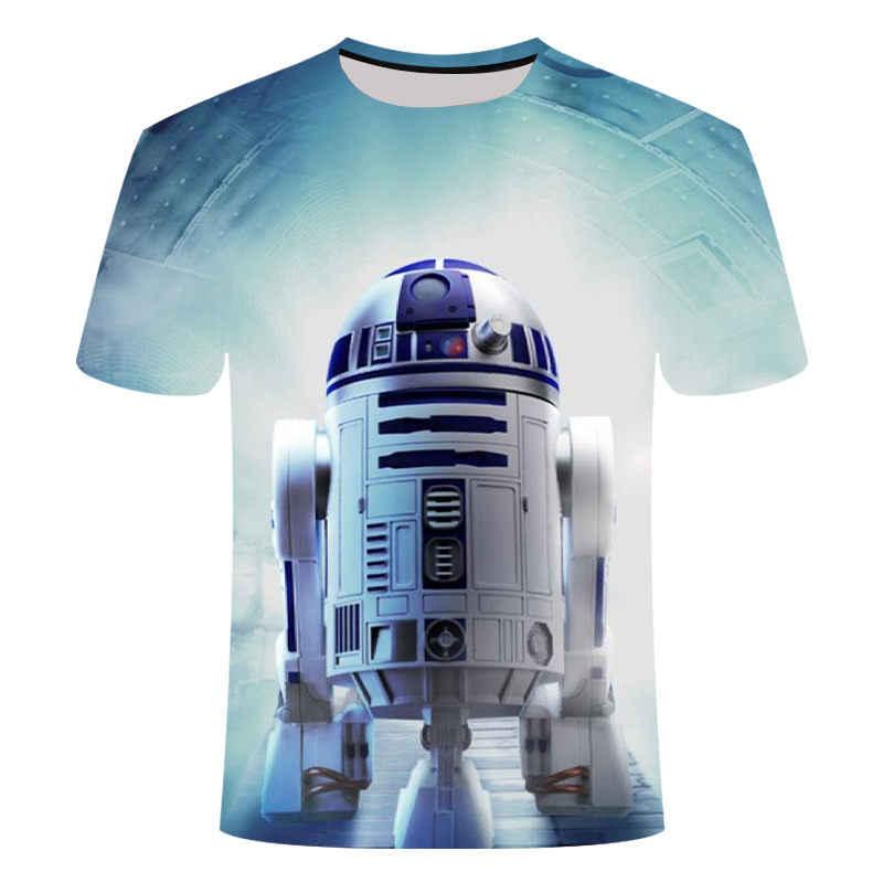 T shirtNew hoge kwaliteit mannen t-shirts Star Wars cartoon kostuums film t-shirts harajuku volwassen darth vader grappige mannen t-shirts