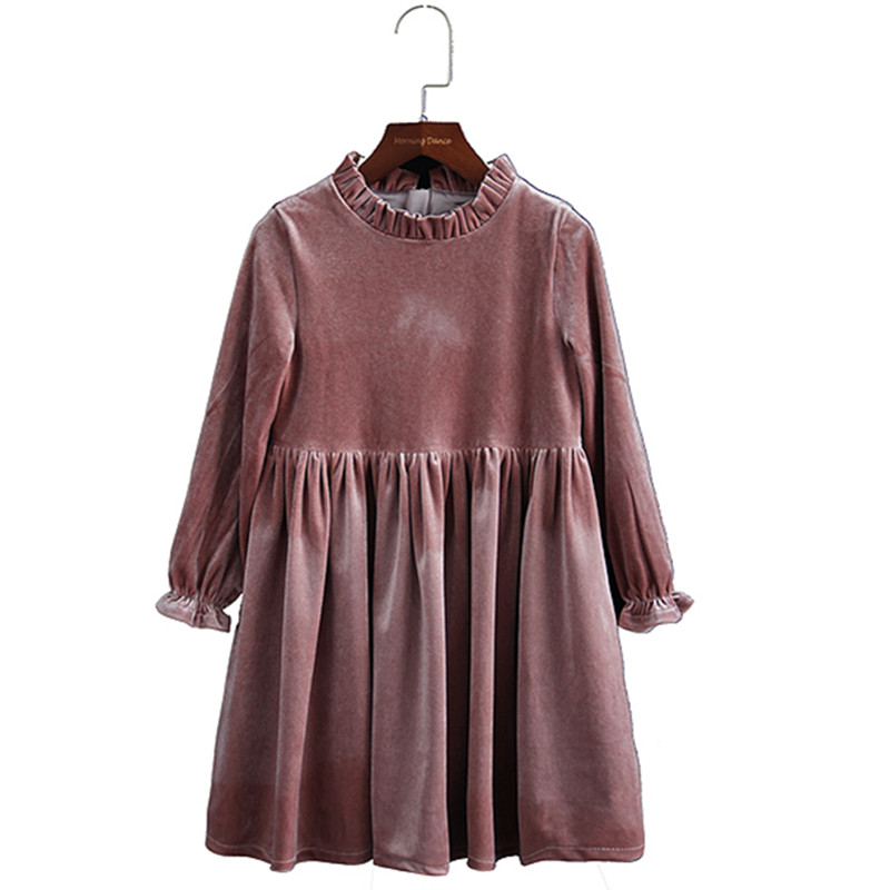Buy velvet christmas dress kids and get free shipping on AliExpress.com 080221517a9c