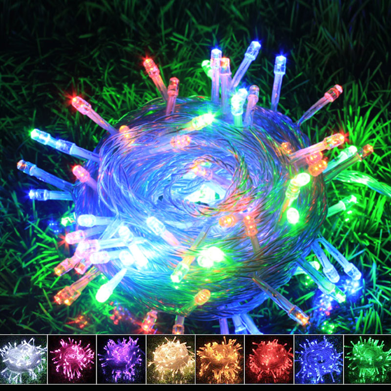 Direct factory hot sale Battery operated Holiday LED string light outdoor lighting christmas Fairy for home party Easy to carry