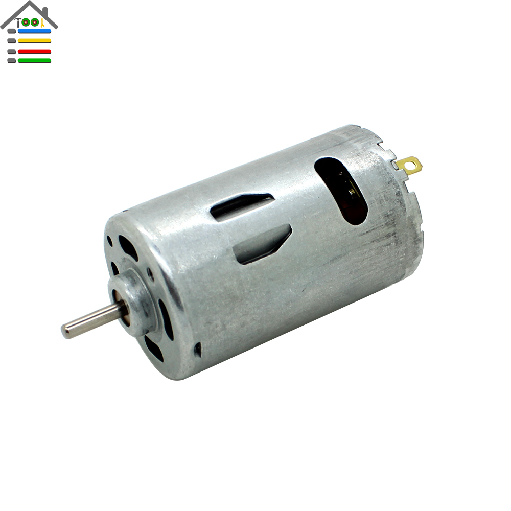 Dc12 24v Electric Brush Motor High Torque Torque Gear