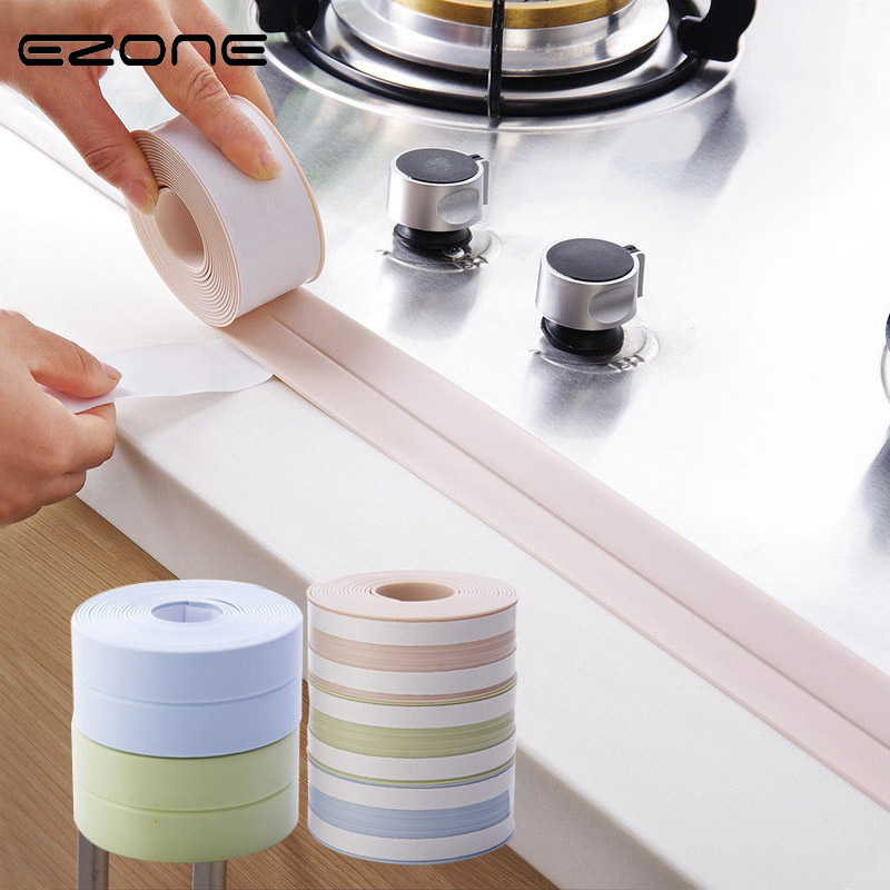 EZONE Roll Wall Sealing Tape Waterproof Mould Proof Practical Household Adhesive Tape DIY Material Escolar Papelaria Stationery waterproof seam sealing tape roll satellite self amalgamating rubber sealing tape sealing cable repair lead