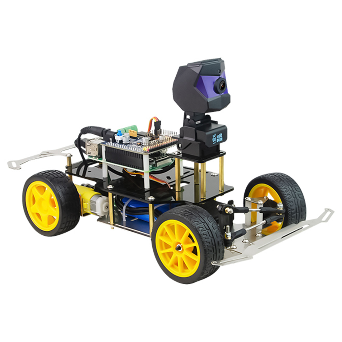 NFSTRIKE Donkey Car Smart AI Line Follower Robot Opensource DIY Self Driving Platform For Raspberry Pi RC Car  Programmable Toys