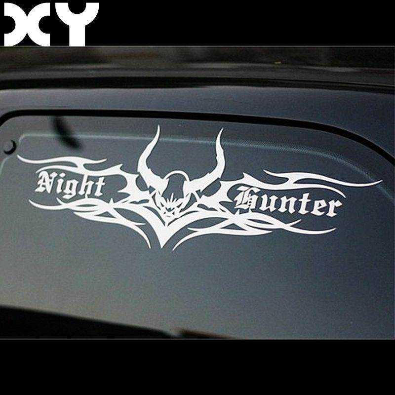 Night Hunter High Quality Funny Vinyl Car Stickers and Decals for Volkswagen Golf Peugeot and So on Drop Shipping