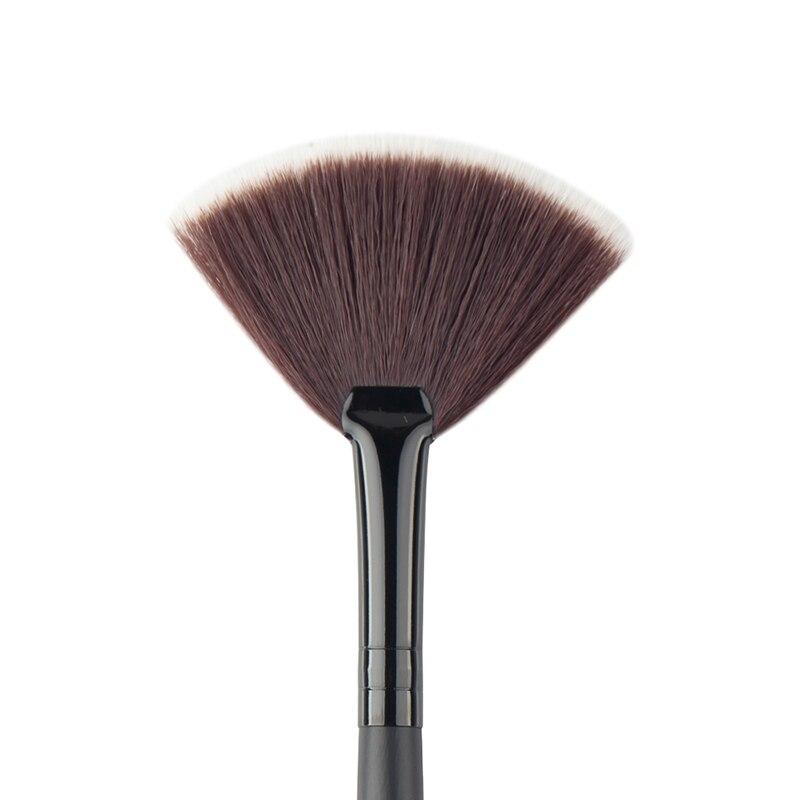 Dropshipping Slim Fan Shape Powder Concealor Blending Finishing Highlighter Highlighting Makeup Brush Nail Art Brush For Makeup