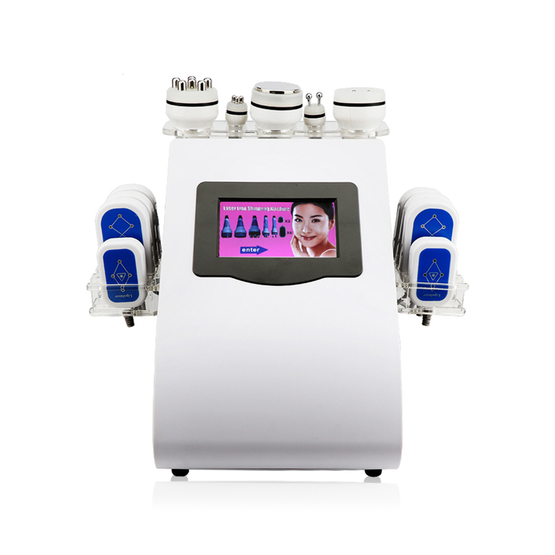 New Design New Model 40k Ultrasonic liposuction Cavitation 8 Pads LLLT lipo Laser Slimming Machine Vacuum RF Skin Care Salon Spa Equipment (6 (1)