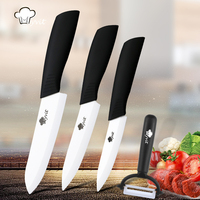 Myvit Brand Home Kitchen Knives 4 5 6 Peeler Ceramic Knife Set White Blade Kitchen Knives
