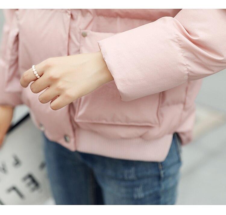 Mode Soupe Dames Rêve Parka D'hiver Femmes Veste Rembourré pink De Survêtement Courte Femelle Manteau Green Ouatée Nouveau Pardessus Light EwrInSqw