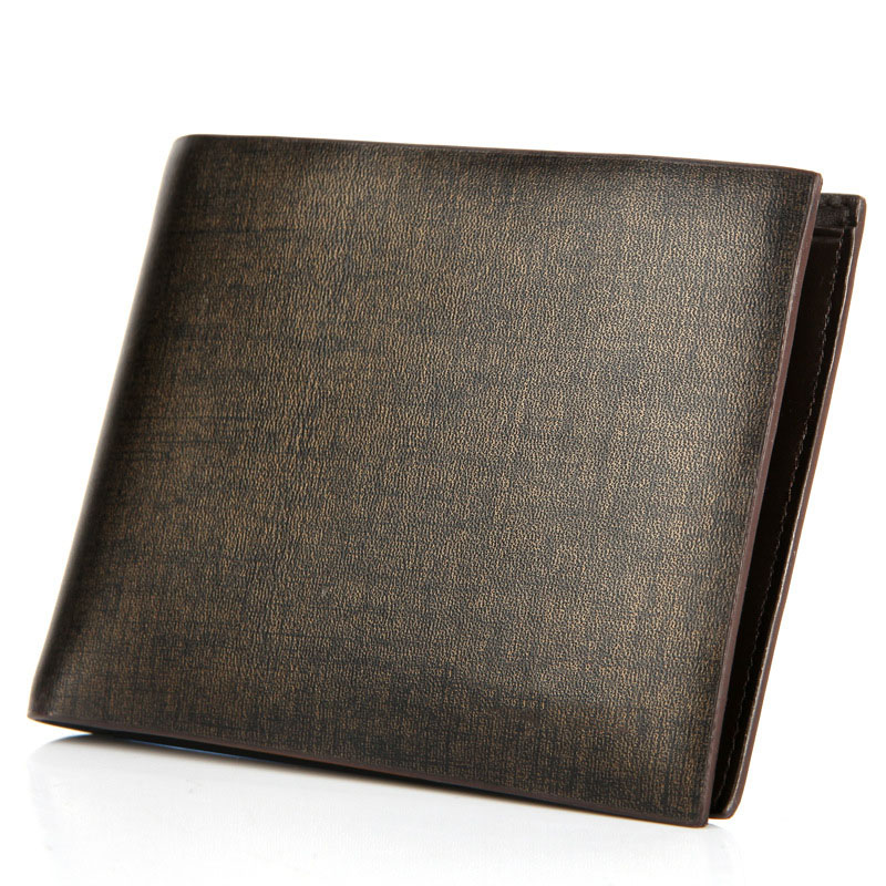 GOOG YU HOT genuine leather Men Wallets Brand High Quality Designer wallet with coin pocket purses gift for men card holder in Wallets from Luggage Bags