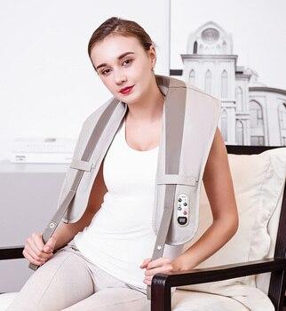 B2 Shoulder and neck massage  shawls  hammering kneading massager back waist shoulder, cervical vertebra electric massager instr