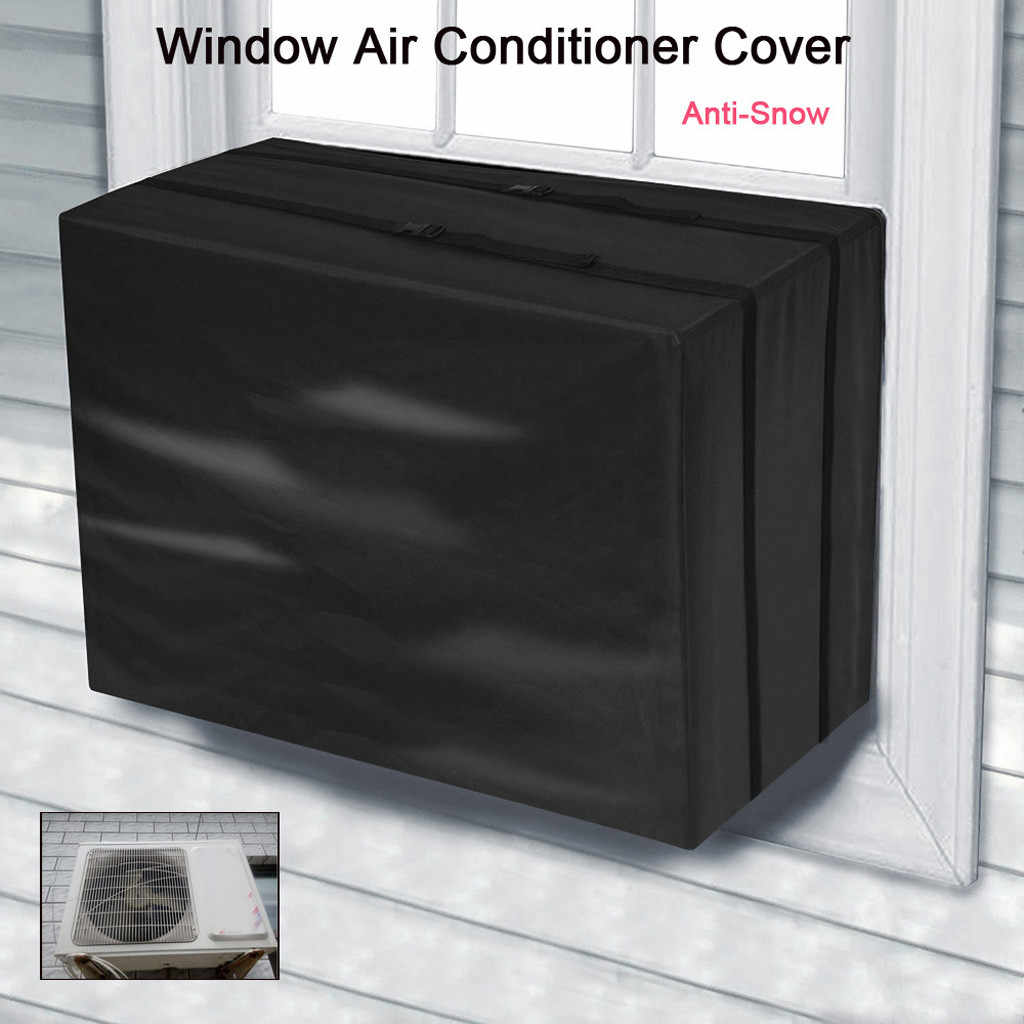 2018 New Outdoor Air Conditioning Cover Air Conditioner Waterproof Cleaning Cover Washing Anti-Dust Anti-Snow Cleaning Cover