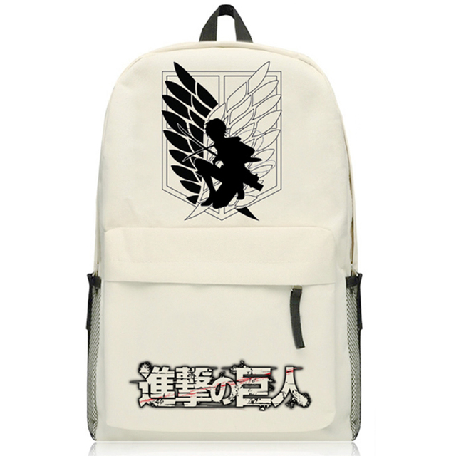 Attack On Titan women Schoolbag Backpack