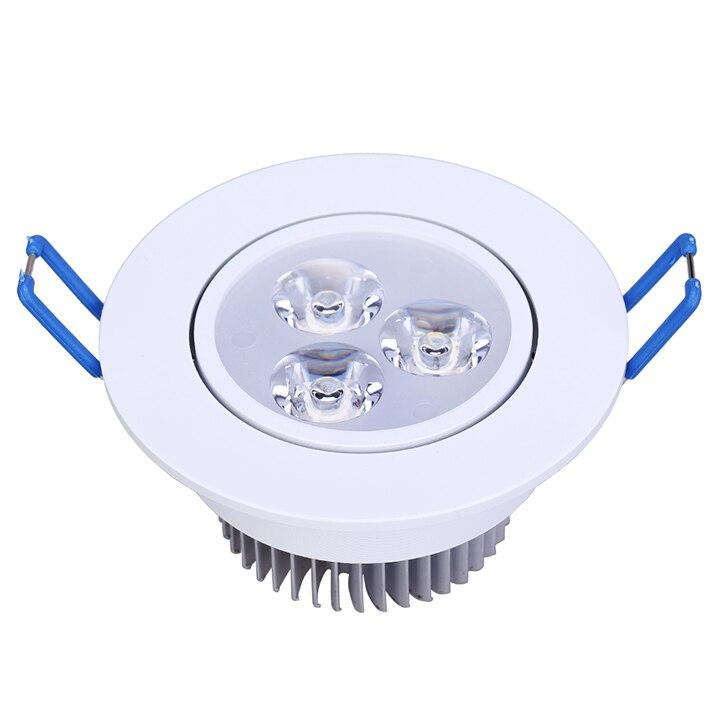 10ks / šarže 9W Stmívatelné LED svítidlo Teplé bílé Chladné - LED Osvětlení