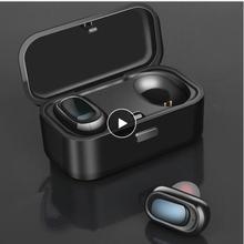 Bluetooth 5.0 TWS tai nghe không dây, tay miễn phí tai nghe bluetooth, tai nghe thể thao, trò chơi tai nghe, microphone kép 3D stereoheadset