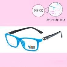 Дети оптические очки рамки ребенок мальчик девочка близорукость оправы для прописанных очков ясно оправа для очков Óculos Y8806-25