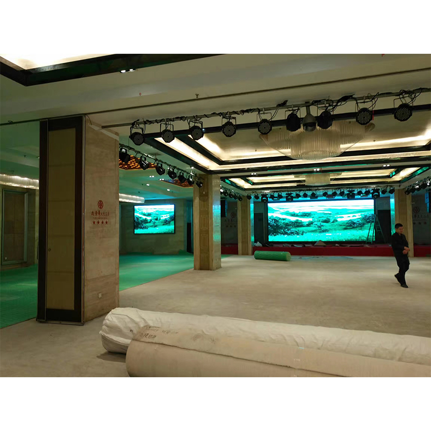 small pixel pitch indoor P3.91mm led display video panel for meeting room concert