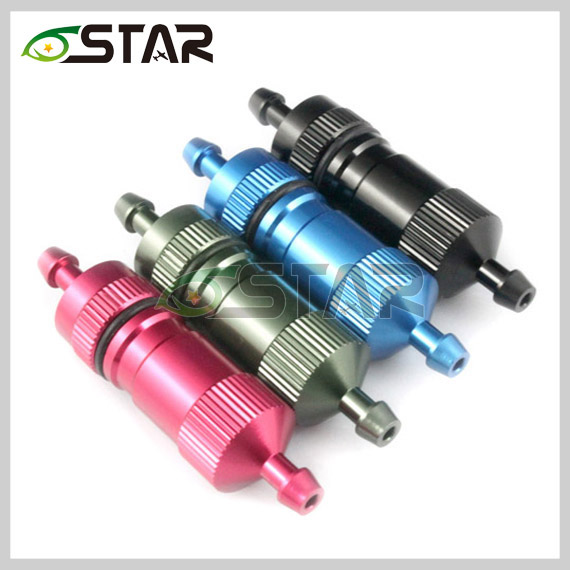 6 Star D4.5*D3*L51mm High Precision Big Fuel Filter 3mm RC Fuel Tank Accessories For Gasoline Aircraft Airplane Car