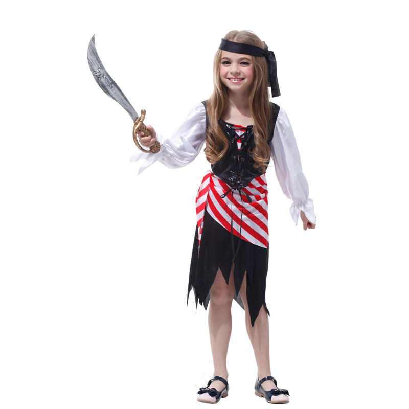 3693ae94bd5c Halloween children child dress up pirates role performance clothing  Handsome pirates of the Caribbean