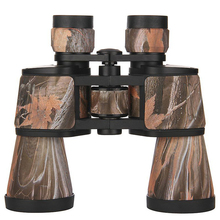Handheld 10x50 Camouflage Binoculars HD Waterproof  Lll Night Vision Wide Angle BAK4 Binocular Outdoor Camping Hunting Telescope