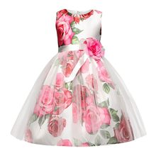 ccc7b22090e TELOTUNY Children Kid Infant Girls Zip Belt Flower Formal Princess Net Yarn  Tutu Dress kids dresses for girls wedding JU 18