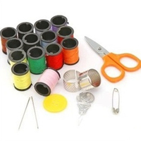 Portable Special Offer 20 Spools Assorted Colors Sewing Threads Needles Set Sewing Tools Kit