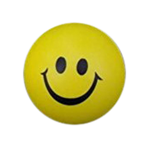6.3 cm Ball smile face hand wrist exercise Stress Relief ball toy