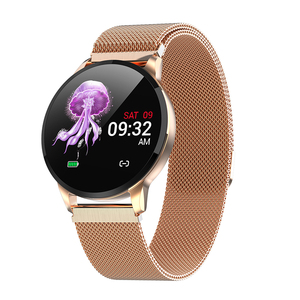 Image 2 - Frauen Sport Smart Uhr Männer LED Wasserdichte SmartWatch Herz Rate Blutdruck Schrittzähler Uhr Uhr Für Android iOS