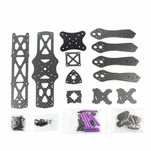 Image 2 - RC FPV Racing Drone Carbon Fiber MMX220 220mm Light Frame Kit Quadcopter Super Light Mini DIY 4 axis Aircraft Racer Accessories