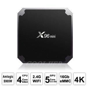 Image 5 - X96 mini TV BOX Android 7.1 OS WiFi Smart TV Box 2GB 16GB Amlogic S905W Quad Core Set top box 1GB 8GB X96mini Media Player