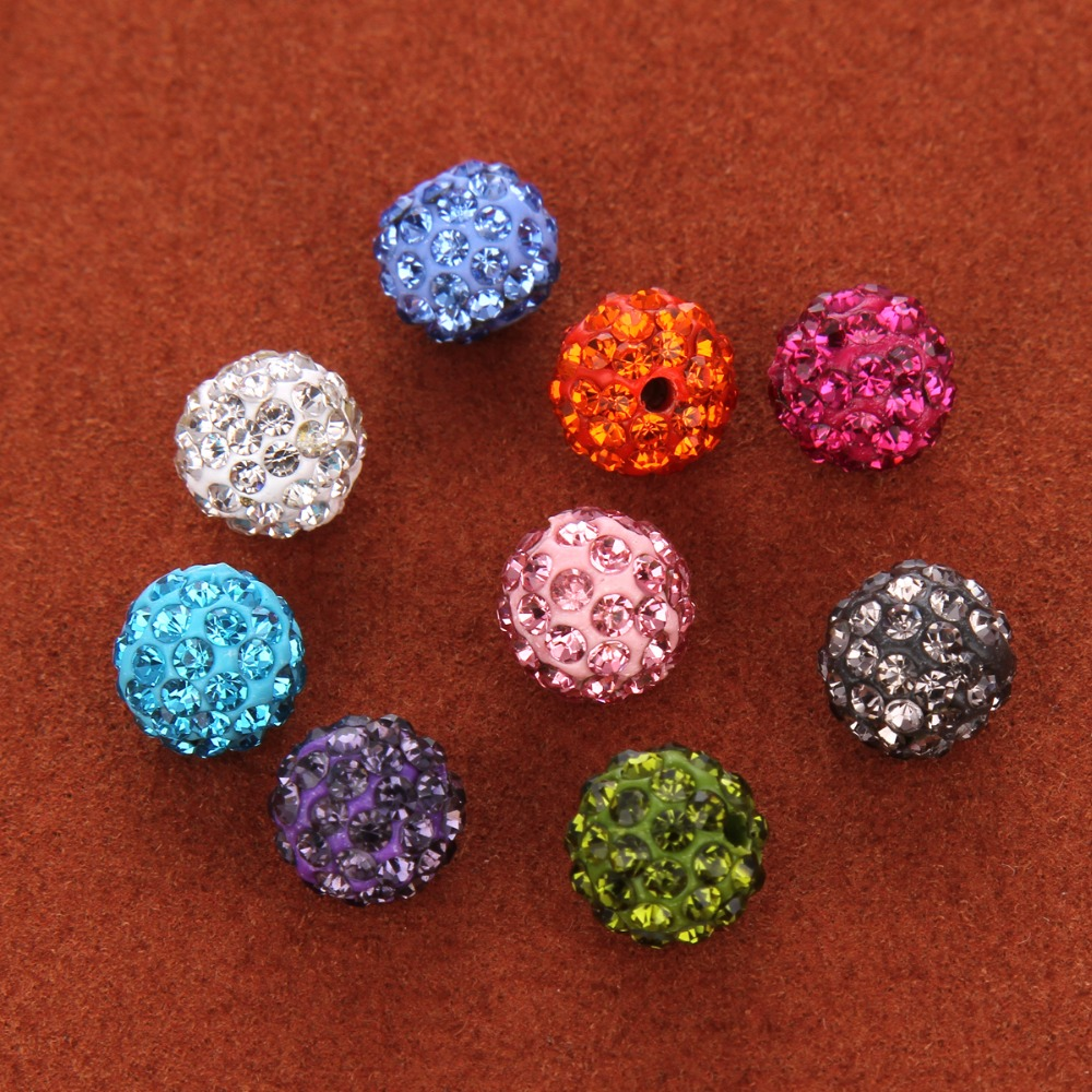 10 x 6 mm Strass En Laiton Saphir Spacer Beads