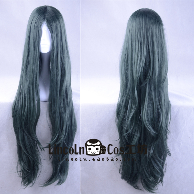 New Danganronpa Dangan Ronpa V3 Korekiyo Shinguji Cosplay Long Wig Role Play Hair Halloween 100cm
