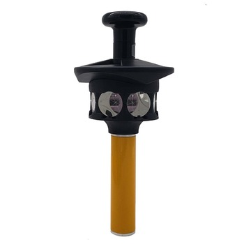 """NEW 360 Degree Prism For TRIMBLE Total Station with Height Adapter joint: 5/8"""" x11 female thread"""