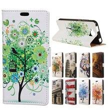 Роскошь Для Doogee X9 Pro/X9 мини Окрашенные Tiger Cat Tree бумажник Стенд PU Кожаный Чехол Телефон Case Capa для Doogee X9Pro X9mini