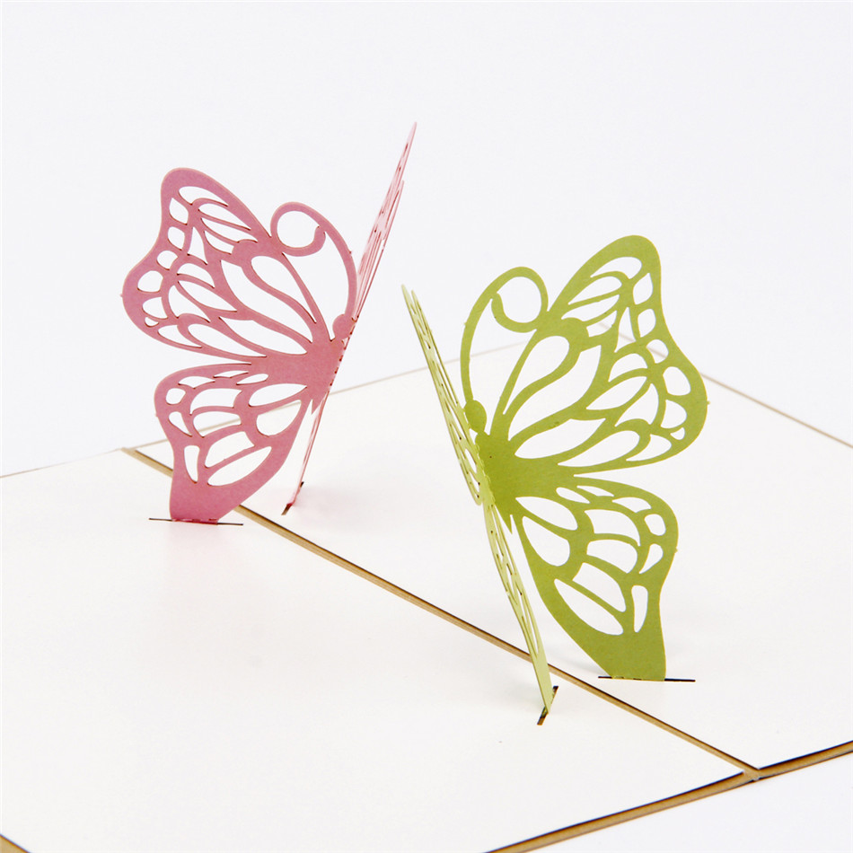 Online buy wholesale origami butterfly from china origami for Kirigami paper art