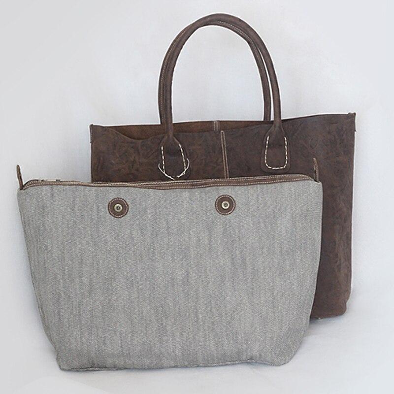 Natürliche Rindsleder Handtaschen Frauen Vintage Schulter Tasche Aus Echtem Leder Top Qualität Dame Casual Einkaufstaschen Große Tote Bolsos-in Schultertaschen aus Gepäck & Taschen bei  Gruppe 3