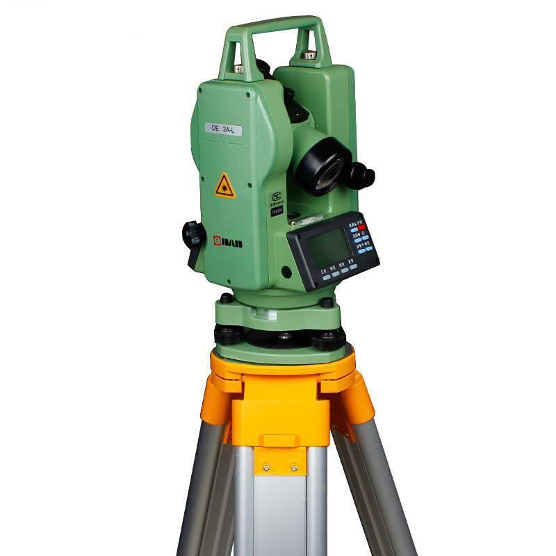 DE-2AL, teodolito eletrônico, prumo Laser, Laser teodolito eletrônico