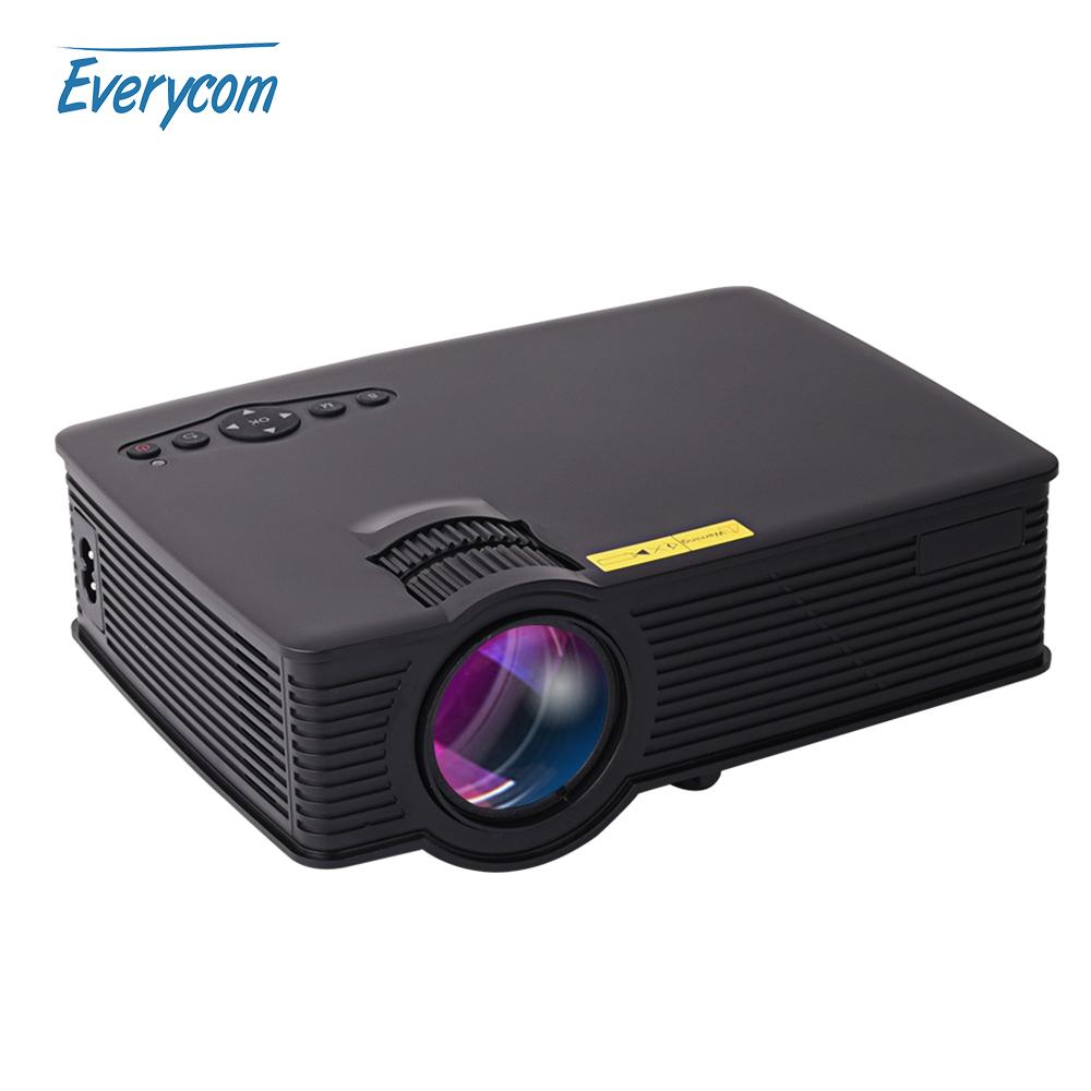 Prix pour Everycom uc40s bt140 mini portable projecteur soutien full hd home cinéma uc40 plus projecteur beamer multimédia 1080 p vidéo hdmi