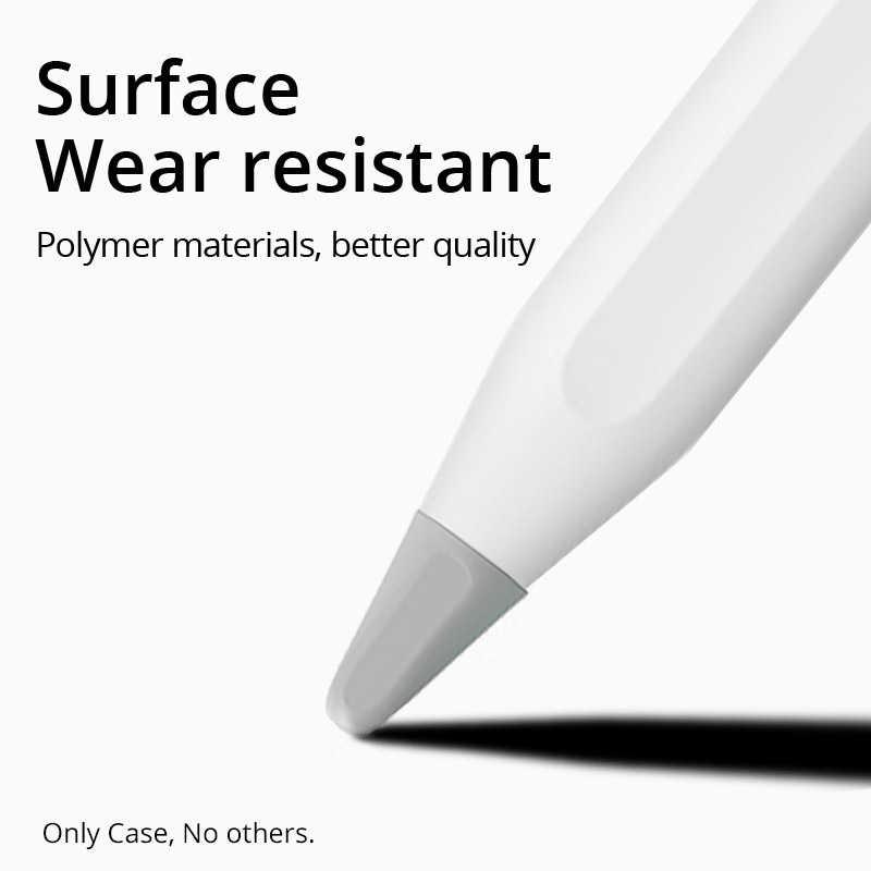PZOZ حافظة حماية لأبل قلم رصاص 1 2st قلم نقطة قلم رصاص غطاء حماية سيليكون حافظة لأبل Pencil2 ipenورق