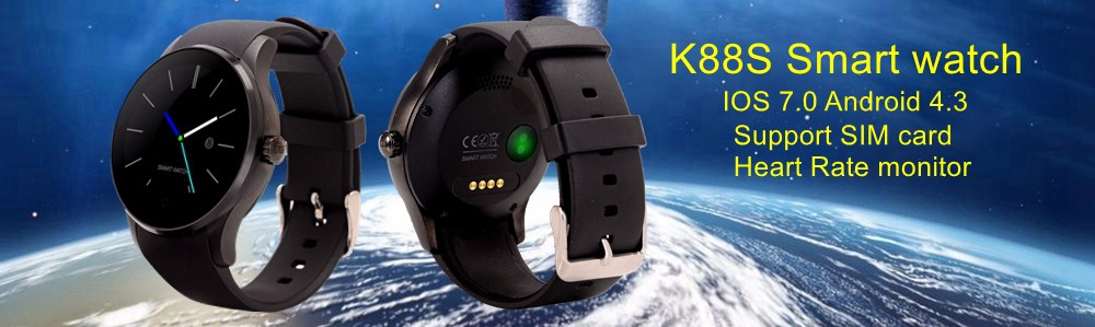 231174da1 2016 An1 smart watch phone Android mobile phone with touch screen Bluetooth  WIFI GPS single SIM phone