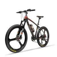 26 polegada De Energia elétrica da bicicleta de fibra de carbono montanha ebike elétrico off-road bateria de lítio adulto masculino mountain bike