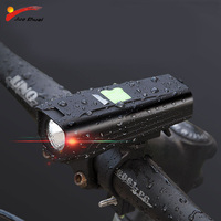 450 High Lumen LED Bike Light Headlight for Bicycle Waterproof Cycling Bike Accessories running lights Mtb Bike USB Light