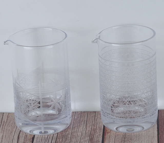 Japanese Style Cocktail Mixing Glass