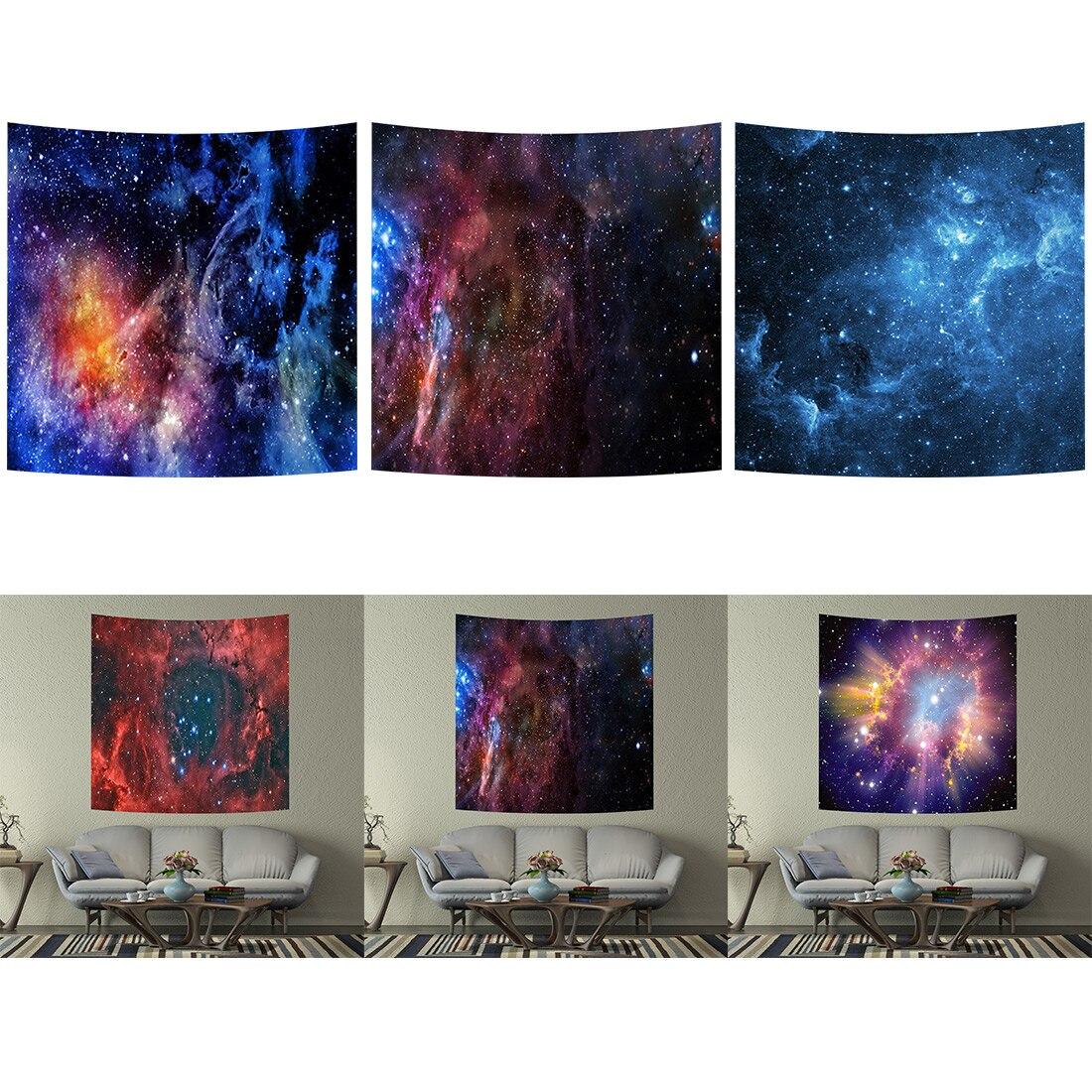 @1  3 размер галактики настенный гобелен 3D арт ковер одеяло йога коврик декоративный гобелен дома ★