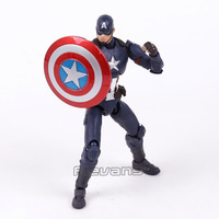 SHF Figuarts SHFiguarts Captain America PVC Action Figure Collectible Model Toy 16cm