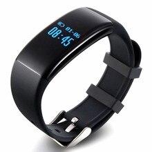 Blue toth smart watch d21 id107 mi band2สายรัดข้อมือที่มีอัตราการเต้นหัวใจการออกกำลังกายการนอนหลับติดตามกันน้ำวงสมาร์ทสำหรับa ndroid ios